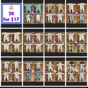 Other - 20 for $13 baby onesies